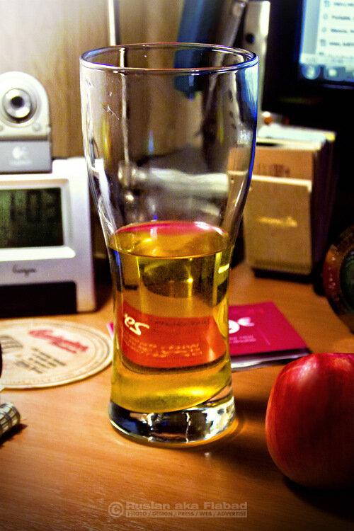 Осень в бокале. О сидре, самом яблочном из осенних напитков.