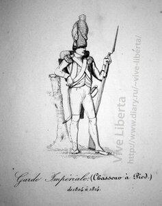 пеший стрелок императорской гвардии 1804-1814