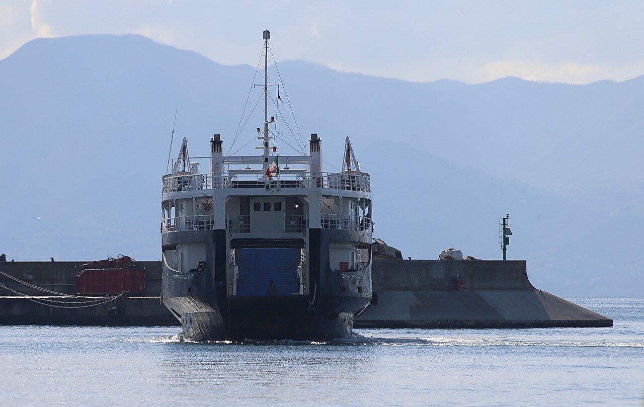 Naples. Ferry dock  (Calata Porta di Massa)
