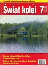 Журнал Swiat Kolei 2001-07