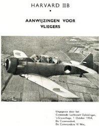 Книга Harvard IIB: Aanwijzingen voor Vliegers