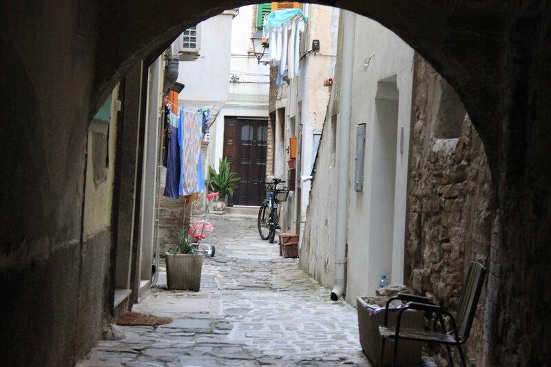 дворики Пирана