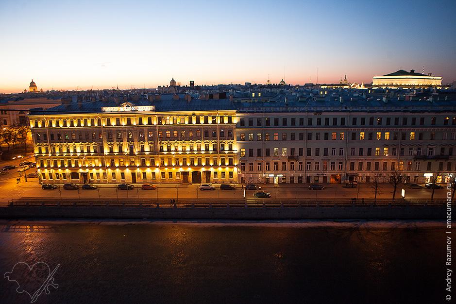 Весенний Петербург март