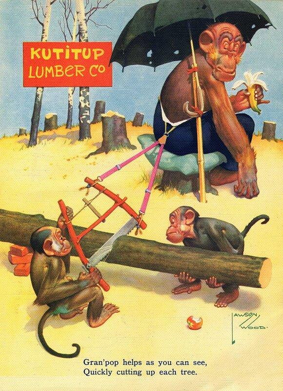 иллюстратор lawson Wood