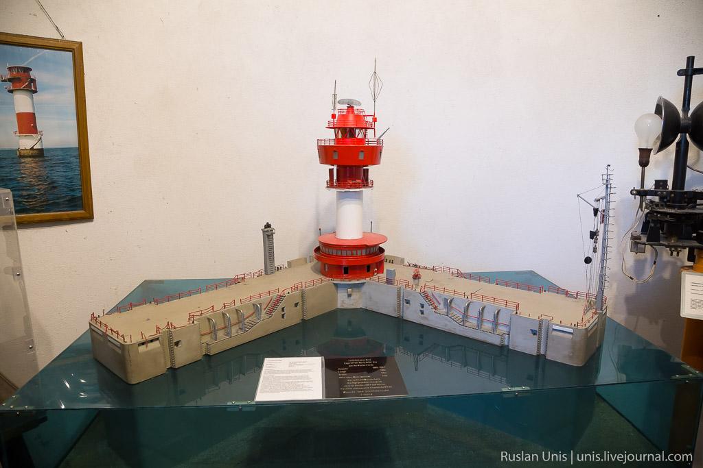 Старый маяк в Травемюнде