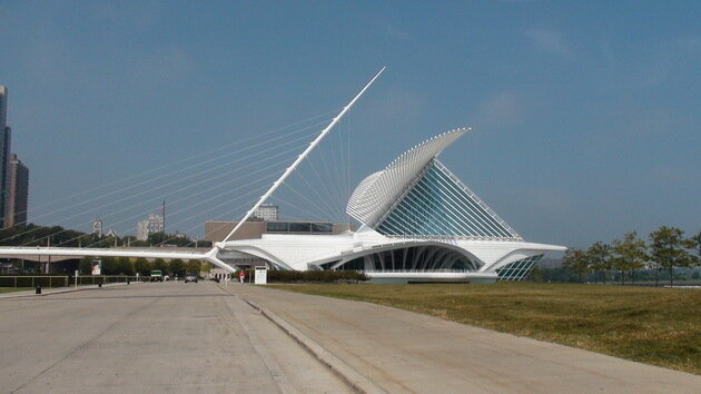 Музей искусств Милуоки (Milwaukee Art Museum). США