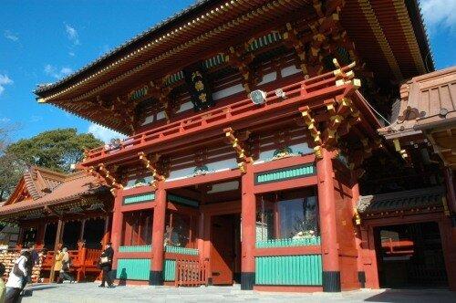 Цуругаока Хатиман-гу.
