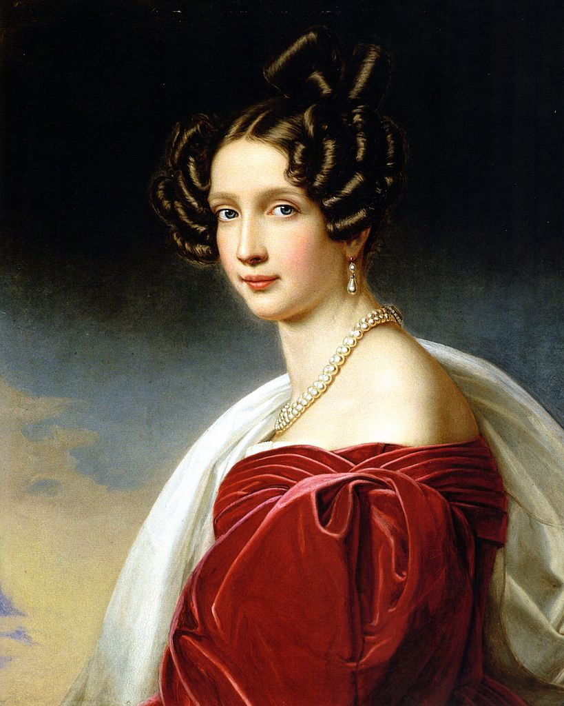 Joseph Karl Stieler (1781�1858) 	Sophie, Archduchess of Austria (née Princess of Bavaria)
