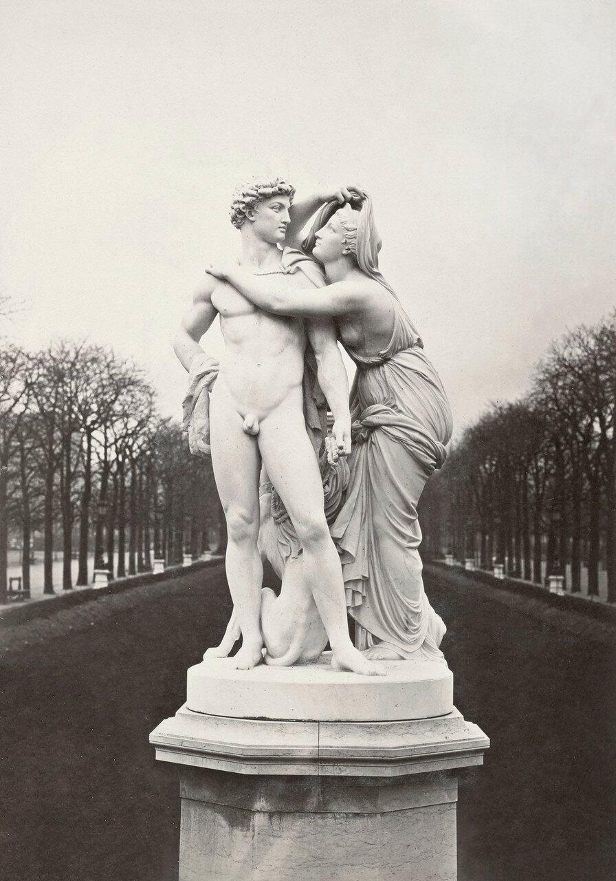 1860-е.  «Ночь» в Люксембургском саду