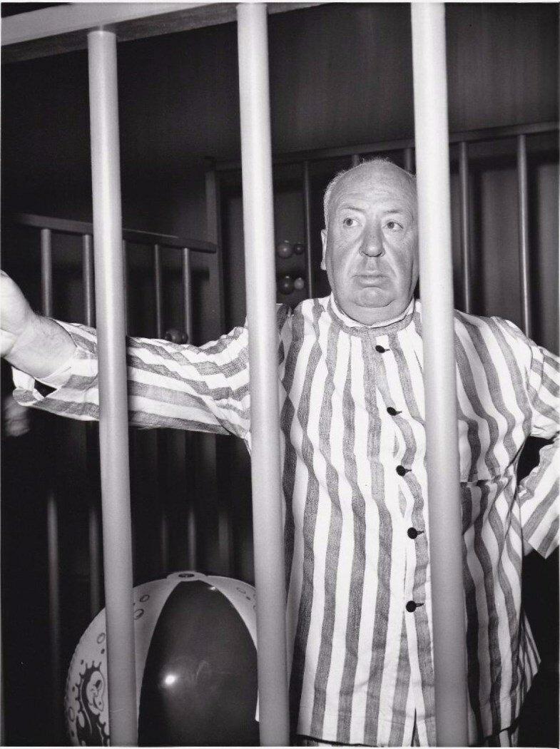 1957. Альфред Хичкок