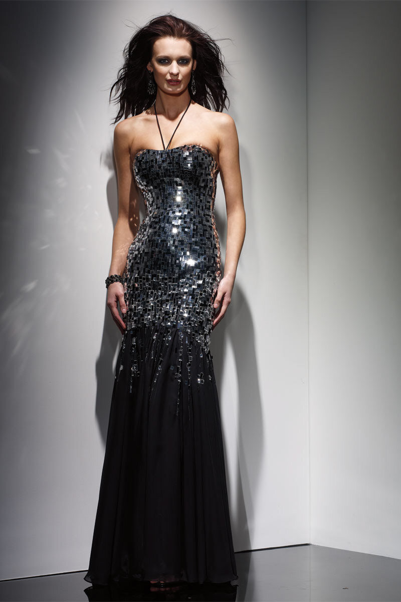 2012 Claudine Abiye Elbiseler