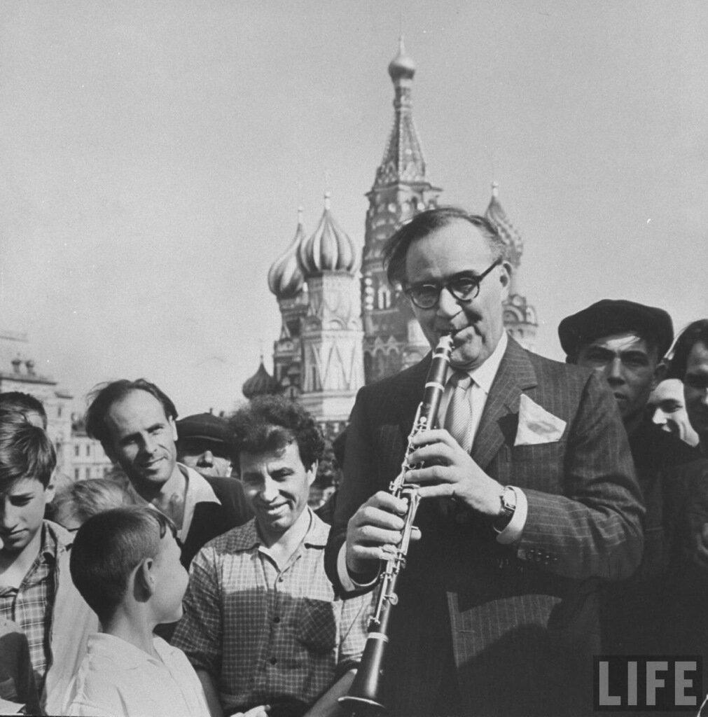 Бенни Гудман в Москве. Красная площадь 1962 г.