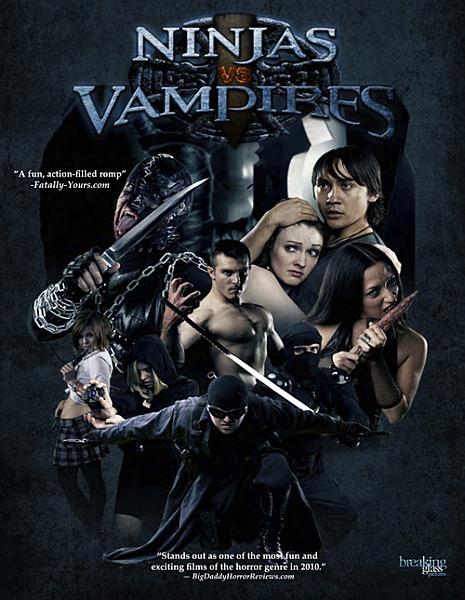 Ниндзя против Вампиров / Ninjas vs. Vampires (2010/DVDRip)