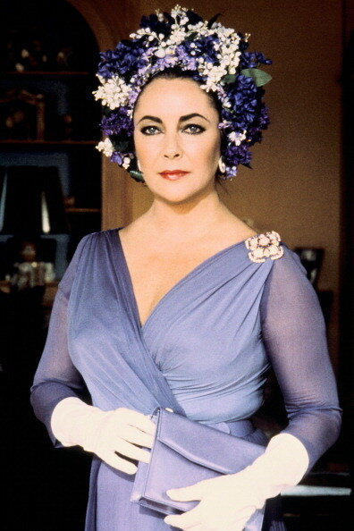 Elizabeth Taylor In The 1980'S