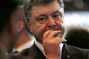Петр Порошенко отменил свой визит в Польшу