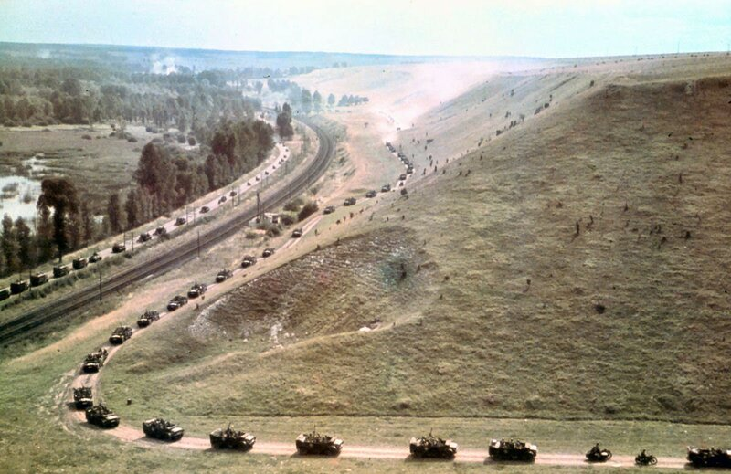 Mechanized Column of the 7th Panzer-Division in France ca. 1940.jpg