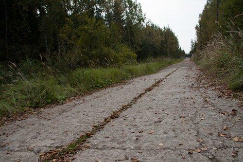 Заброшенный военный городок, московская область
