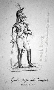 драгун императорской гвардии 1806-1814