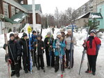 4 февраля группа ребят из Дружины им. священномученика Георгия Извекова отправилась в лыжный поход в Национальный парк-заповедник Лосиный остров