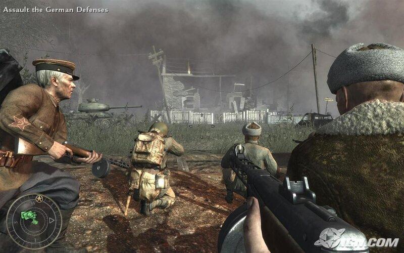 Скачать Патчи для Call of Duty: World at War (1.1-1.7) Игры для