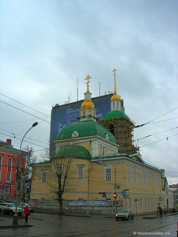 Пермь. Храм Рождества Пресвятой Богородицы (1789 г.)
