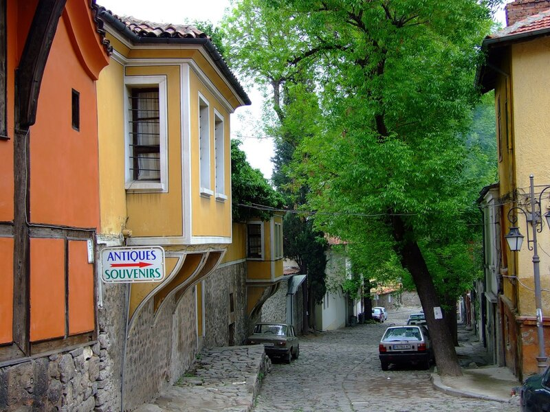 Улица в Пловдиве