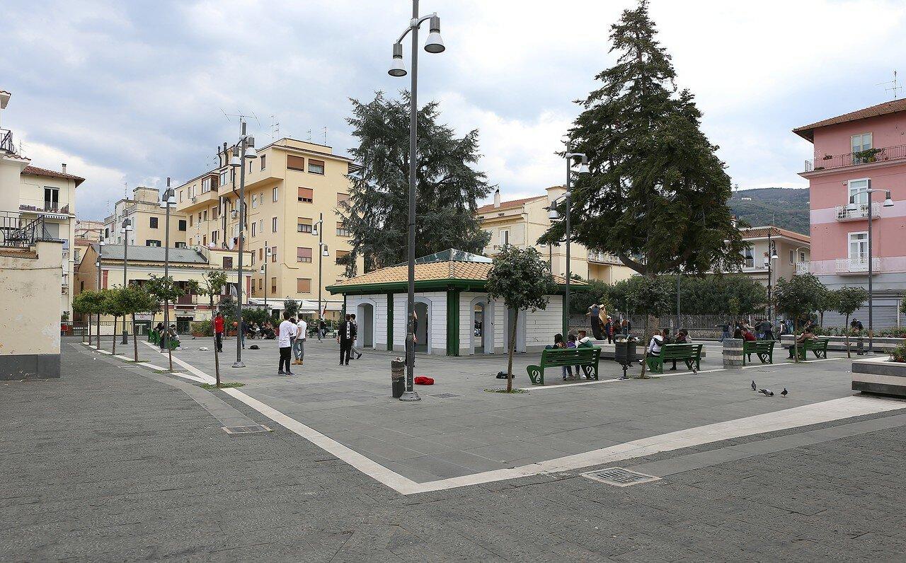 Sorrento. Piazza Andrea Veniero