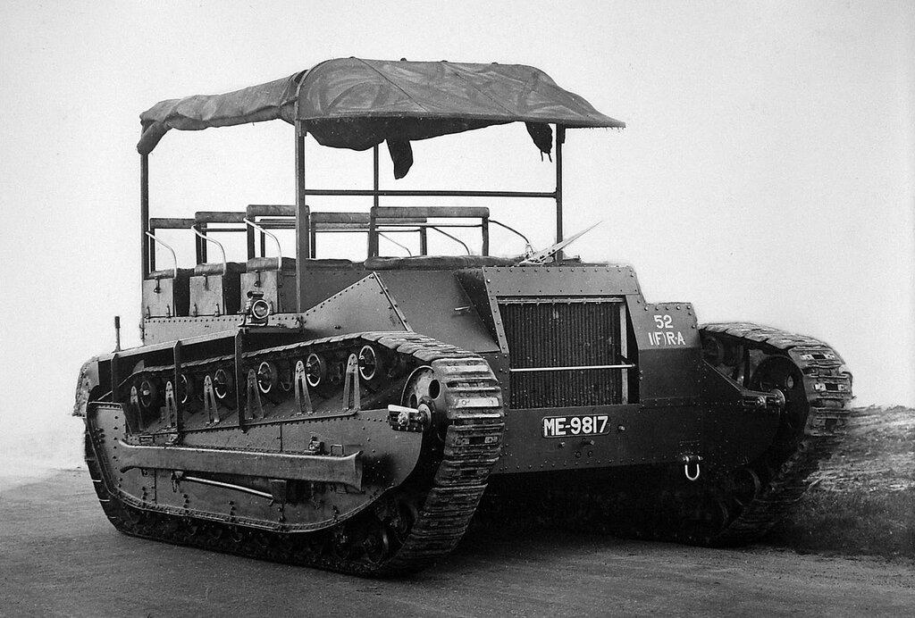 Dragon Medium Mk.II, 1922