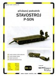 Журнал Stavostroj P-50N (Ripper Works 012)