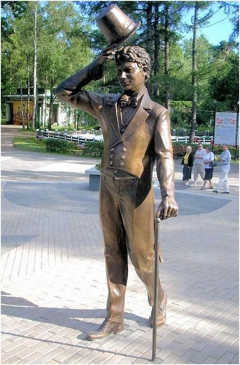 Памятник Георгию Вицину