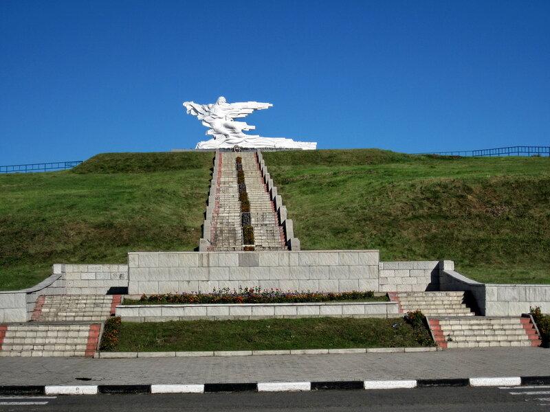 Памятник жертвам крупнейшей природной катастрофы