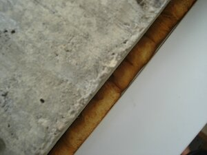 Открытая пена в шве стеклопакета