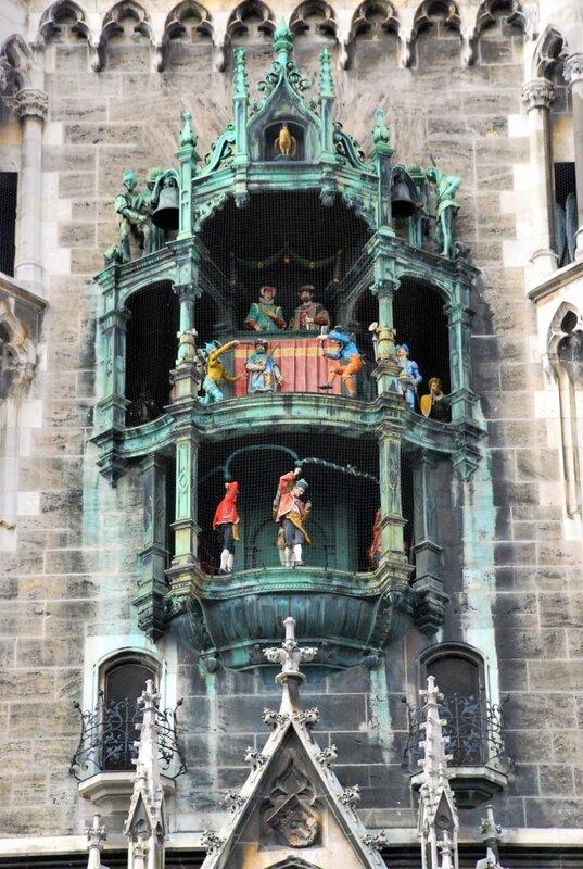Часы Мюнхенской Ратуши