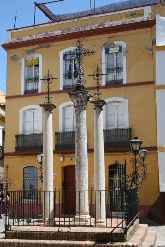 Севилья, площадь de las Cruses