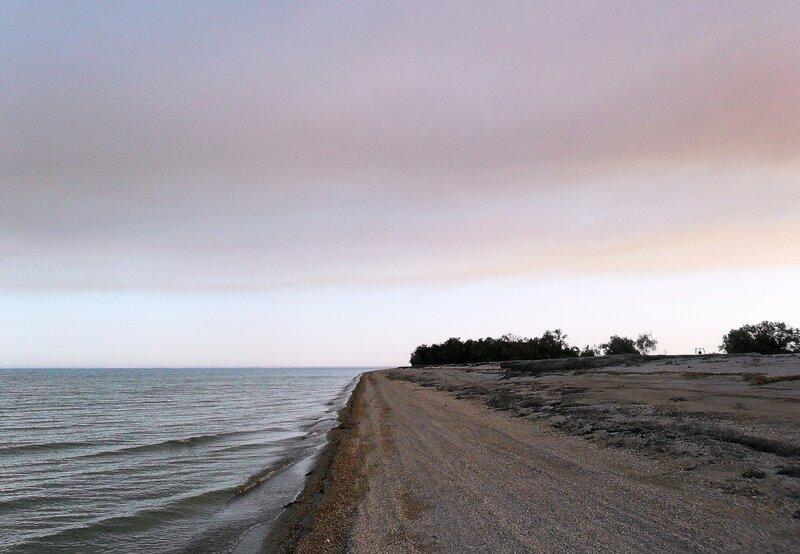 По берегу Ясенской косы