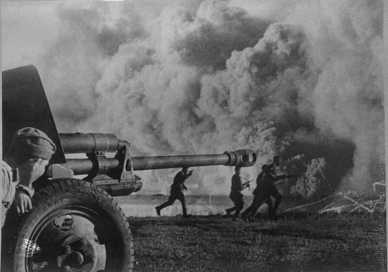 Вторая Мировая Война. Советские солдаты