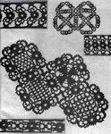 Старинные узоры(вязание крючком)