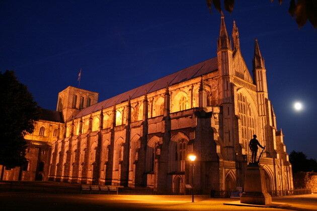Винчестерский собор. Великобритания