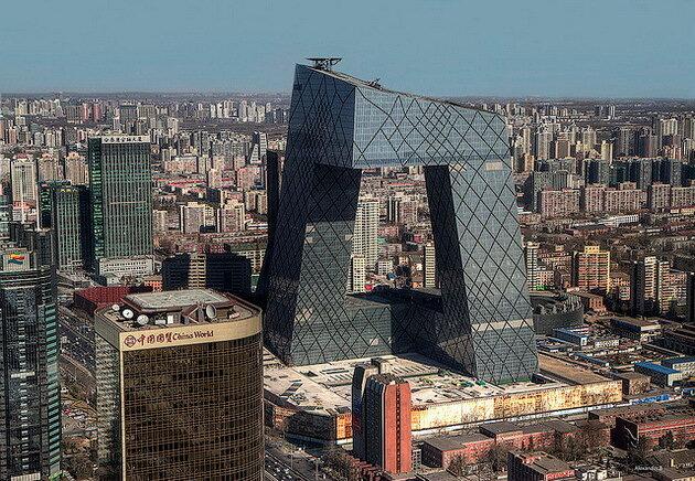 Китайский центральный телевизионный центр (CCTV Tower). Пекин
