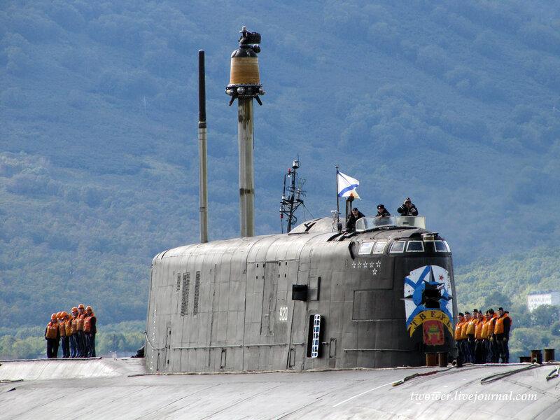 Атомный подводный крейсер пр 949а