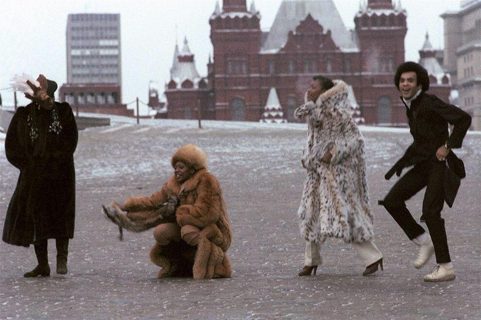 1978. Бони-М на Красной площади