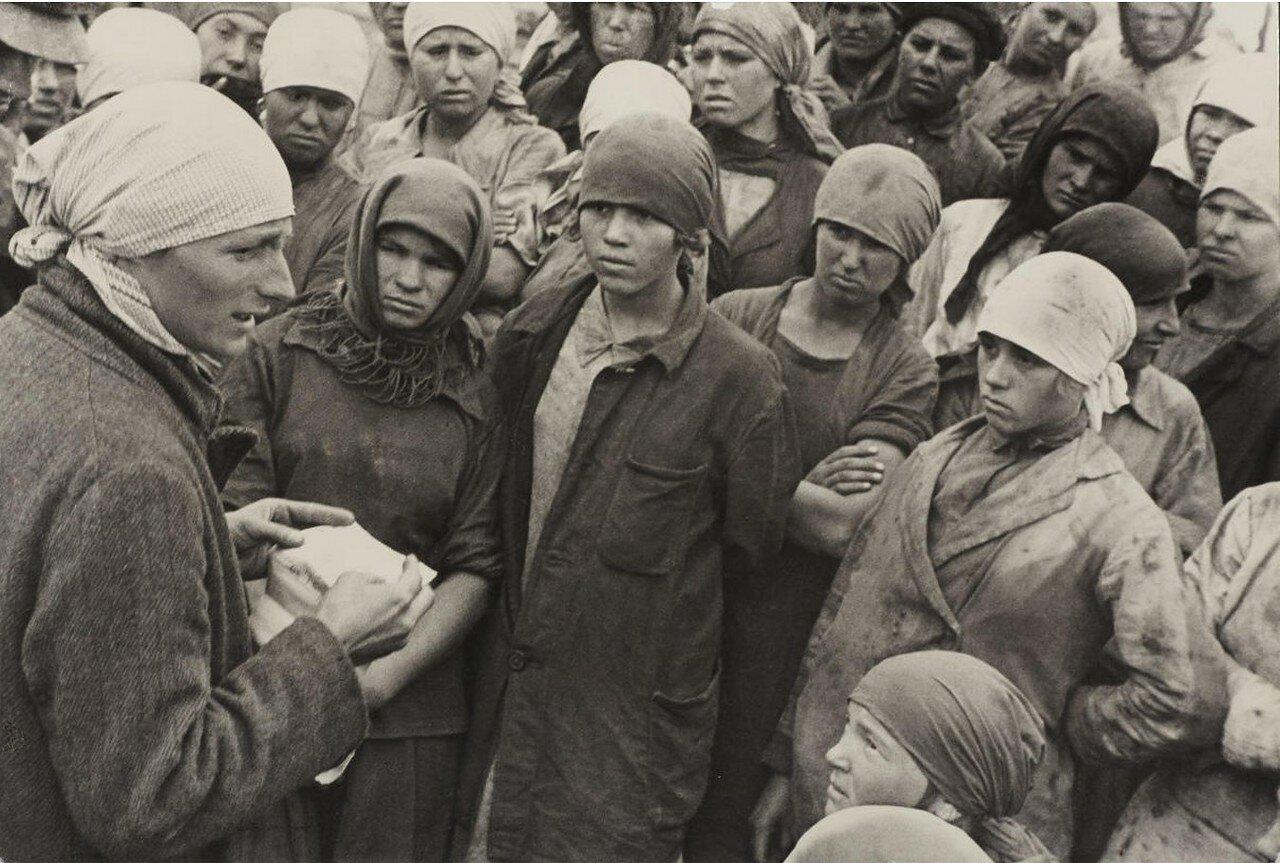 1920-е. Женщины рабочие. Донбасс