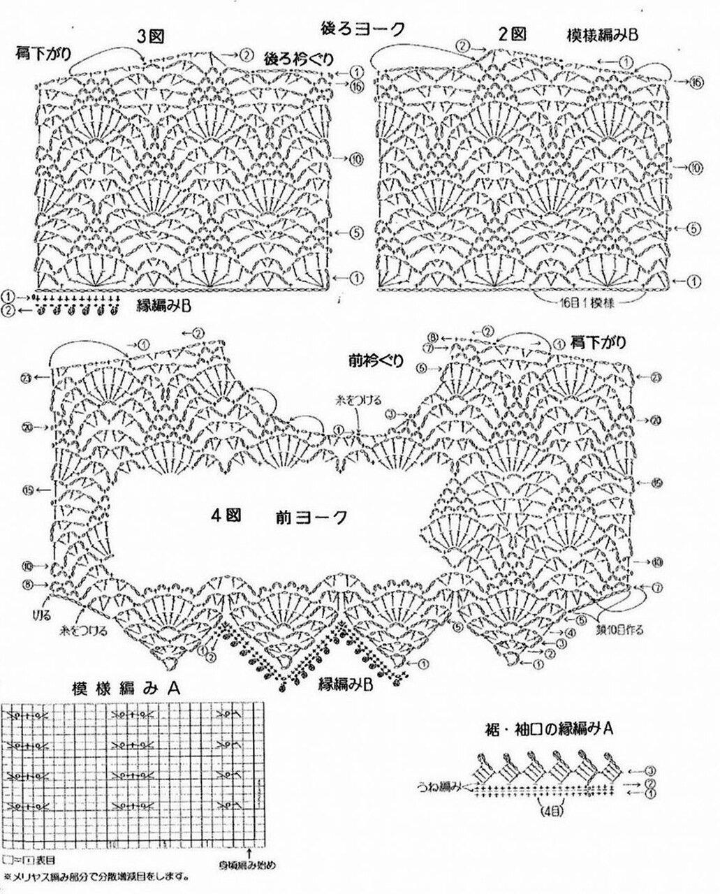 钩织结合——菠萝花开 - slzhaoln - 织春草的博客