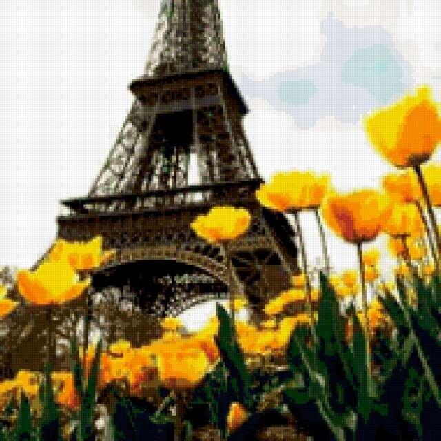 У основания Эйфелевой башни в Париже для туристов будет разбит бассейн с имитацией подводного мира.