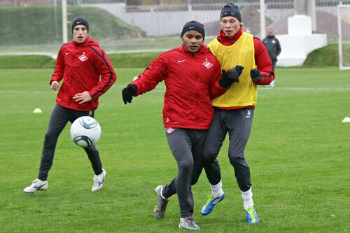 Тренировка Спартака 19-10-2011