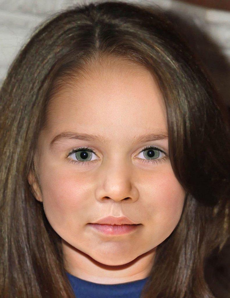 Как же будет выглядеть юная принцесса Британии в будущем?