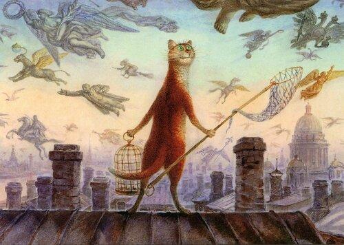 Эрмитажные коты - не обращайтесь к ним на ты!