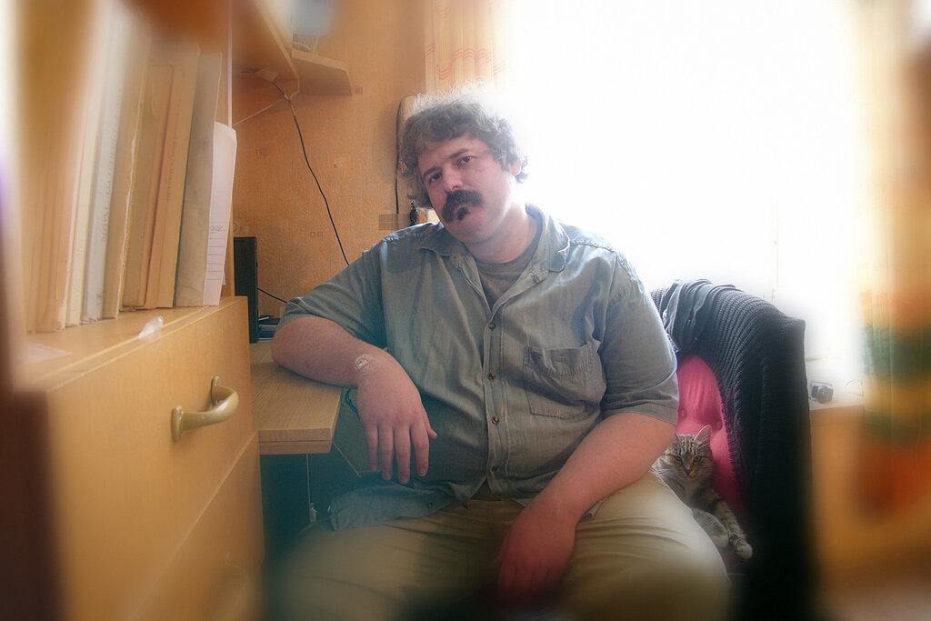 Михаил Лидский. пианист.  фотограф Кузьмин