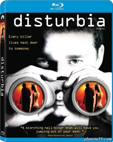Паранойя / Disturbia (2007/HDRip)