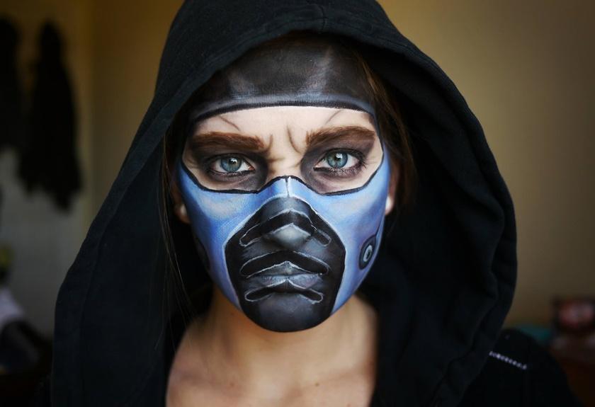 Девушка потрясающе меняет свое лицо с помощью макияжа 0 14225c 7d048396 orig